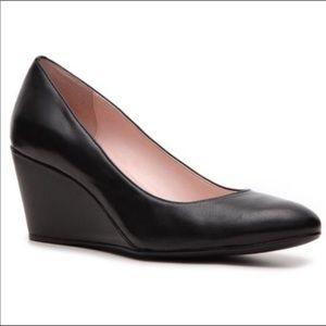 Taryn by Taryn Rose Black Wedge Heels